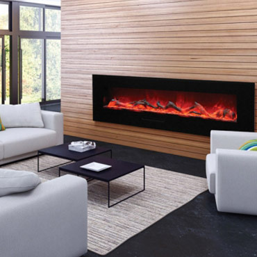 amantii linear hearth gas fireplace