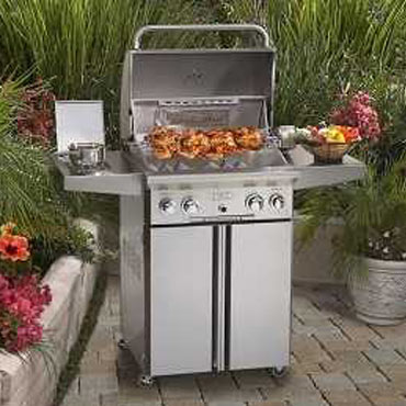 grilling with American Outdoor gas grills