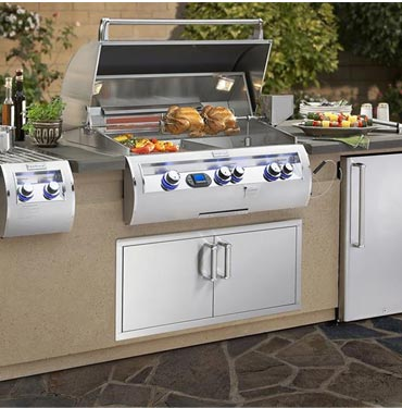 firemagic island gas grill and fireplaces