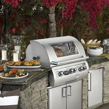 firemagic built-in gas grilling