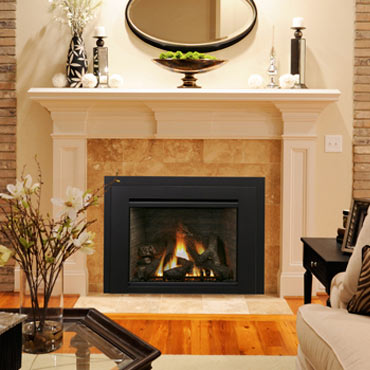 Iron Strike hearth gas fireplace