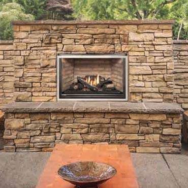 Montigo outdoor fireplaces and grills