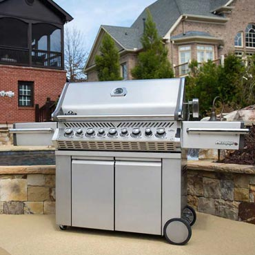 grilling with Napoleon Gas grills